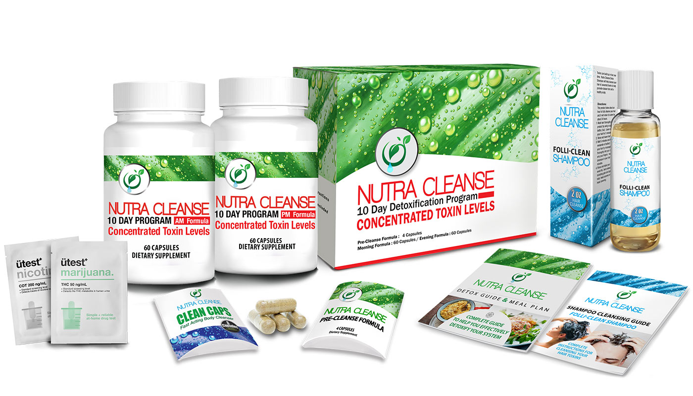 Total Body Cleanse - 10 Day Ultra Detoxification